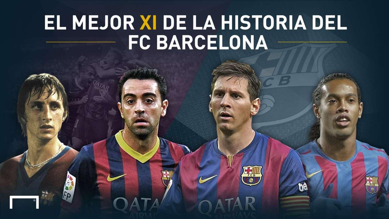 El XI Ideal en la Historia del FC Barcelona