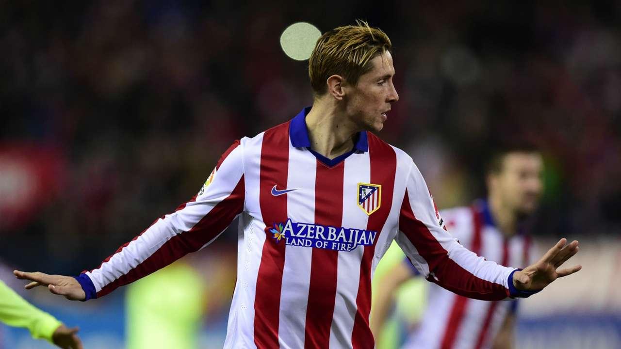 Fernando Torres Atletico de Madrid Barcelona Copa del Rey 01282015