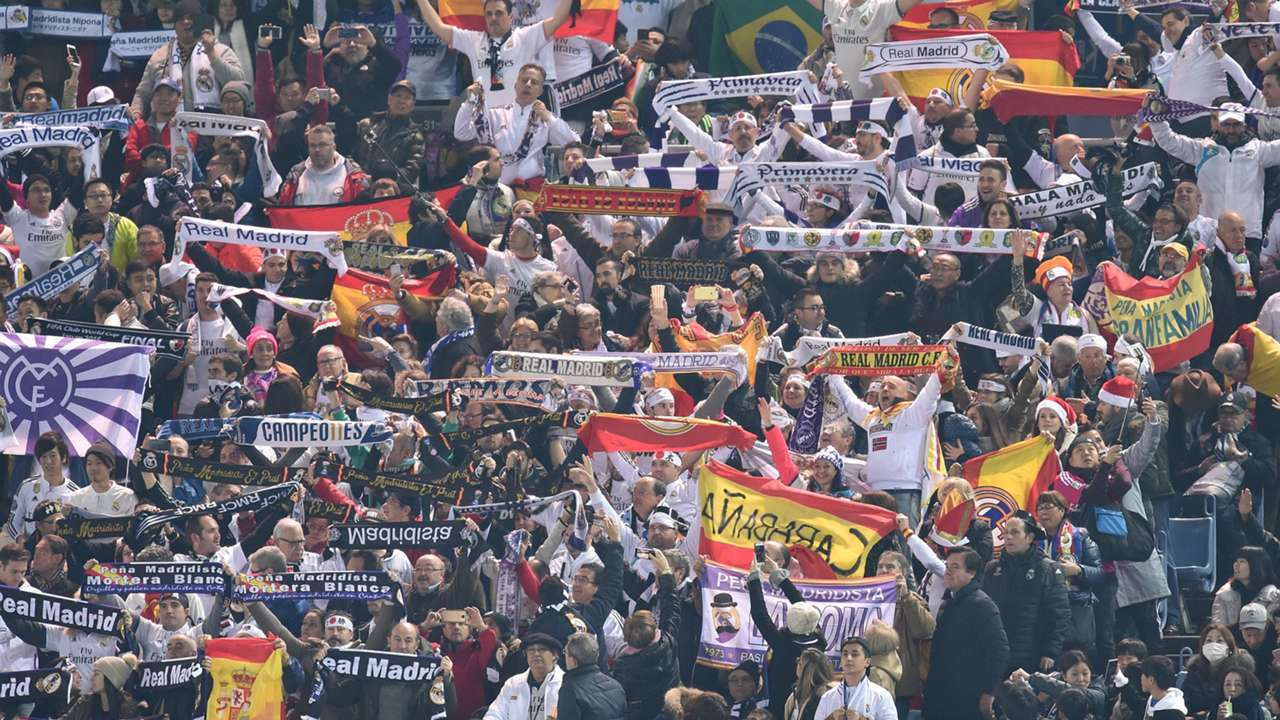 Fans Real Madrid Kashima FIFA Club World Cup final 18122016