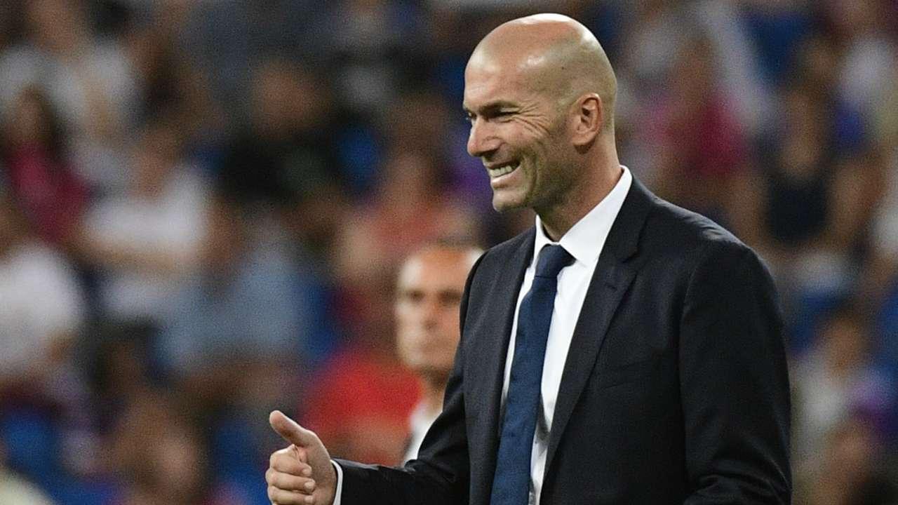 Zinedine Zidane Real Madrid Stade de Reims