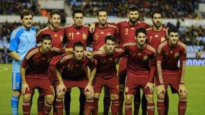 Spain Germany International Friendly 11182014