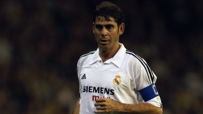Fernando Hierro Real Madrid