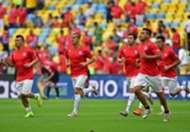 Gary Medel Francisco Silva Eugenio Mena Eduardo Vargas Mauricio Isla  Spain Chile 2014 World Cup Group B 06182014