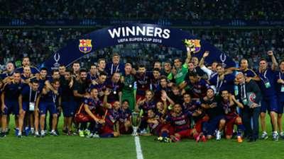 Barcelona Sevilla UEFA Supercup