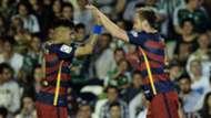 Rakitic Neymar Real Betis Barcelona 30042016