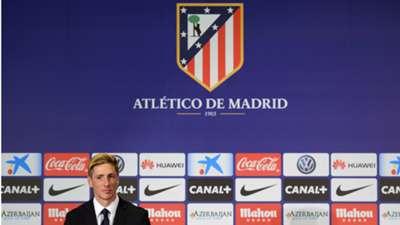 Fernando Torres Atletico Madrid Unveiling 04012015