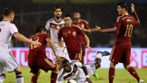 Antonio Rudiger Bruno Soriano Alvaro Morata Spain Germany International Friendly 11182014