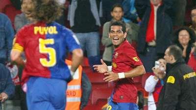 Dani Alves Barcelona Almería 2008