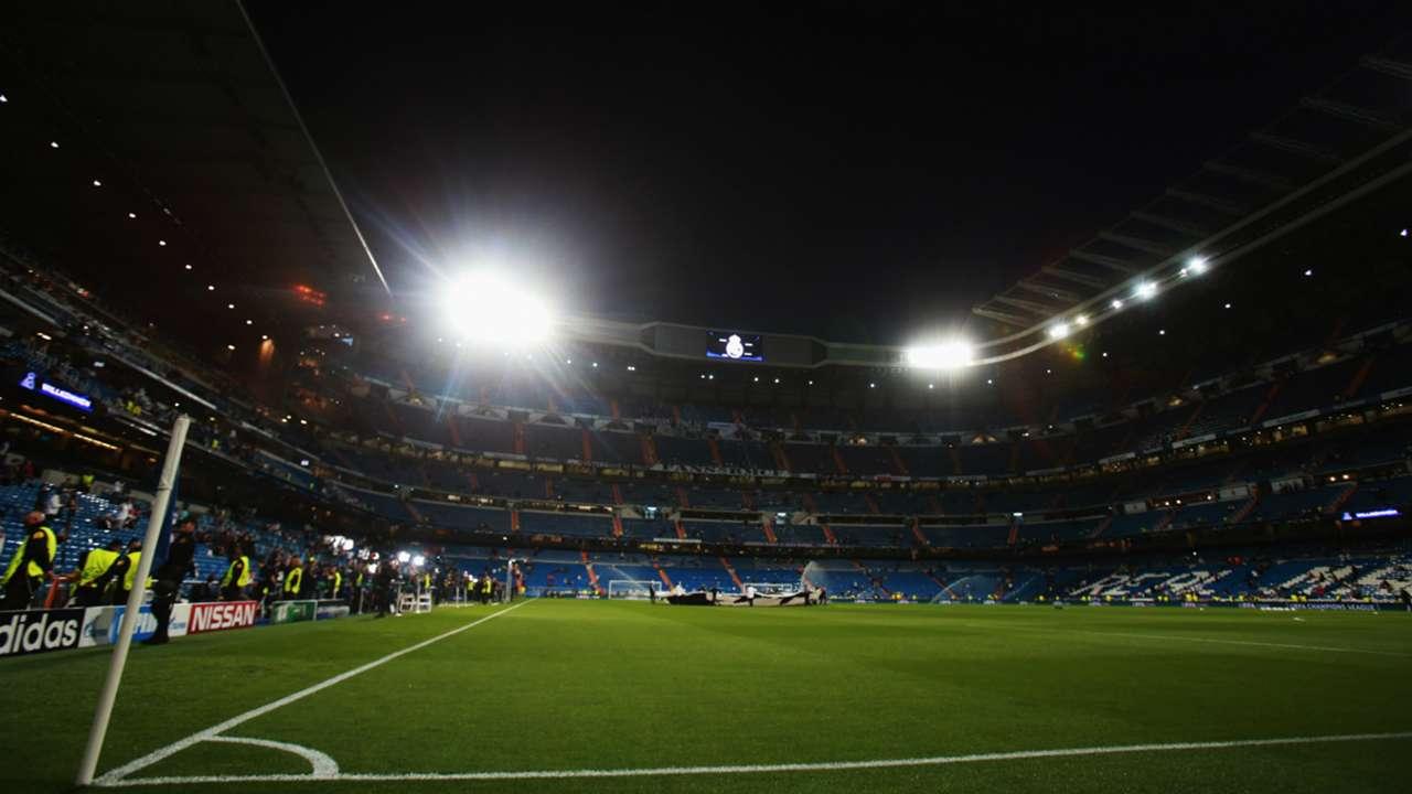 Santiago Bernabeu Real Madrid Schalke 04 UEFA Champions League 03102015