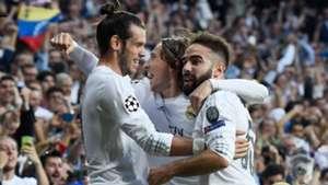 Gareth Bale Dani Carvajal Real Madrid Manchester City 04052016