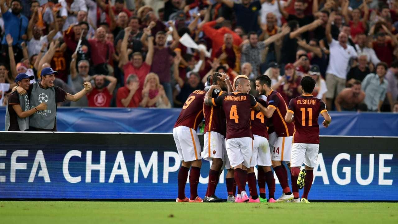 Alessandro Florenzi Roma Barcelona Champions League