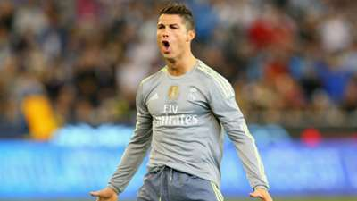 CRISTIANO RONALDO REAL MADRID MANCHESTER CITY FRIENDLY MELBOURNE 07242015