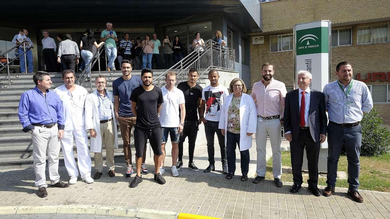 Sevilla FC hospital