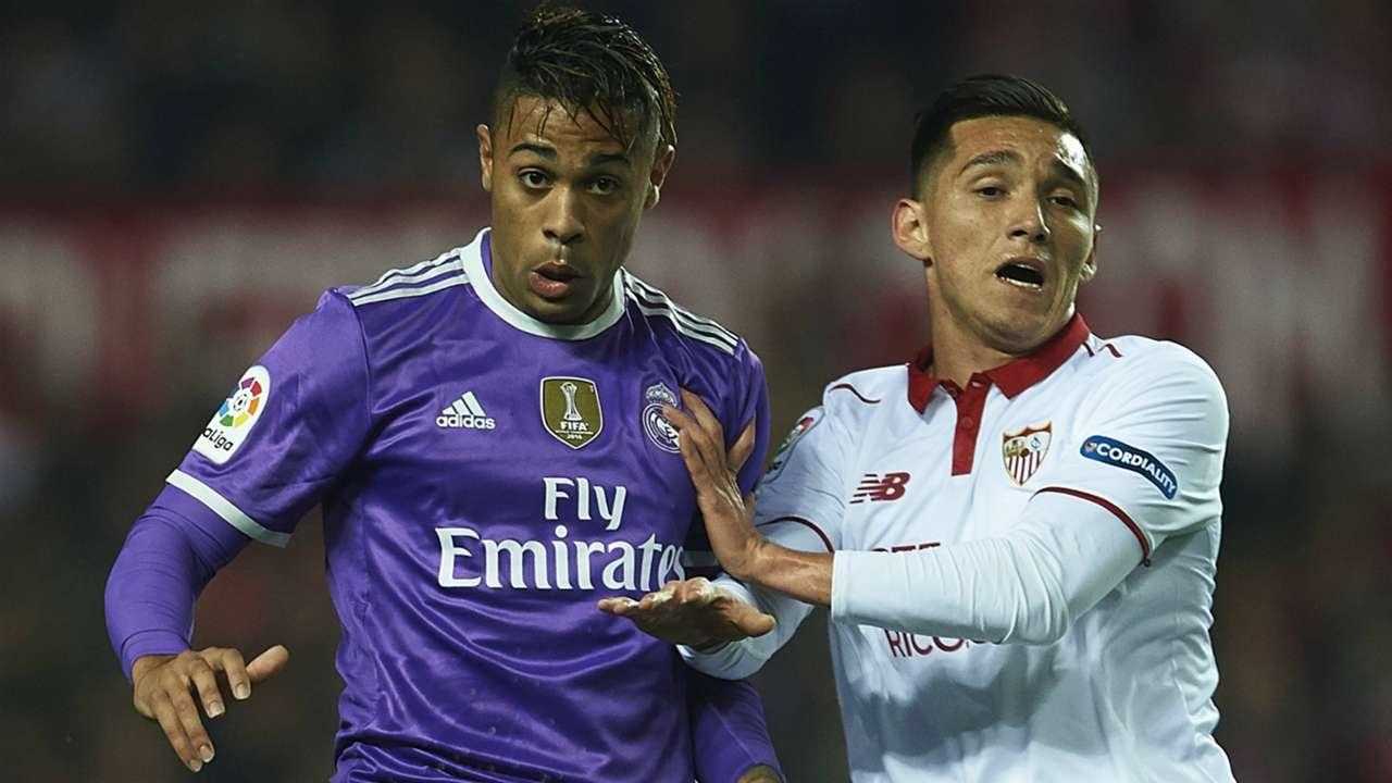 Matias Kranevitter Mariano Diaz Sevilla Real Madrid Copa del Rey.