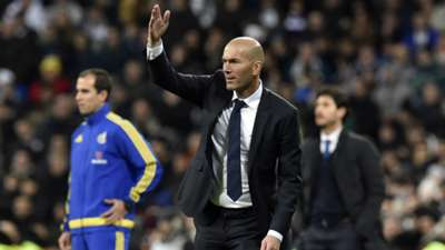 Zinedine Zidane Real Madrid Deportivo Coruna La Liga 09012016
