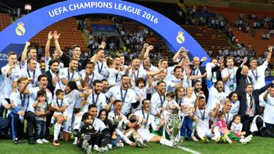 UCL FINAL REAL MADRID CELEBRATION 28052016