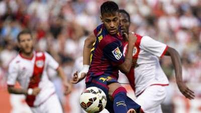 Neymar Abdoulaye Ba Rayo Vallecano Barcelona La Liga