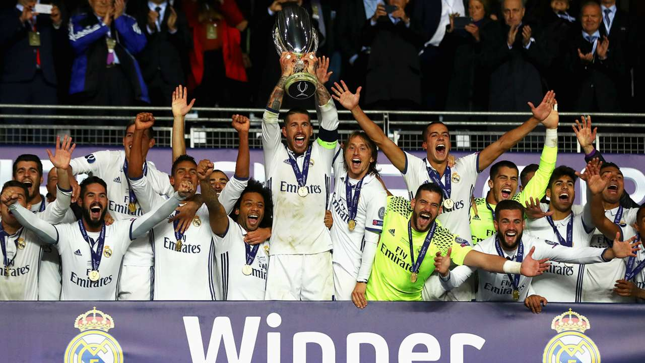 Real Madrid Sevilla UEFA Super Cup 09082016