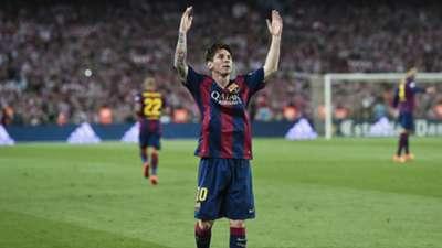 Lionel Messi Athletic Barcelona Copa del Rey