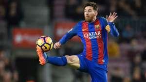 Lionel Messi Barcelona Sporting Gijon LaLiga 01032017
