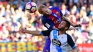 Mathieu Andone Barcelona Deportivo La Liga 15102016