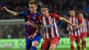 Ivan Rakitic Filipe Luis Barcelona Atletico Madrid Copa del Rey