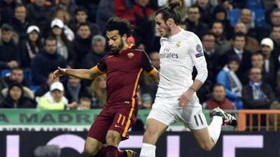 Mohamed Salah Gareth Bale Real MAdrid Roma 03082016