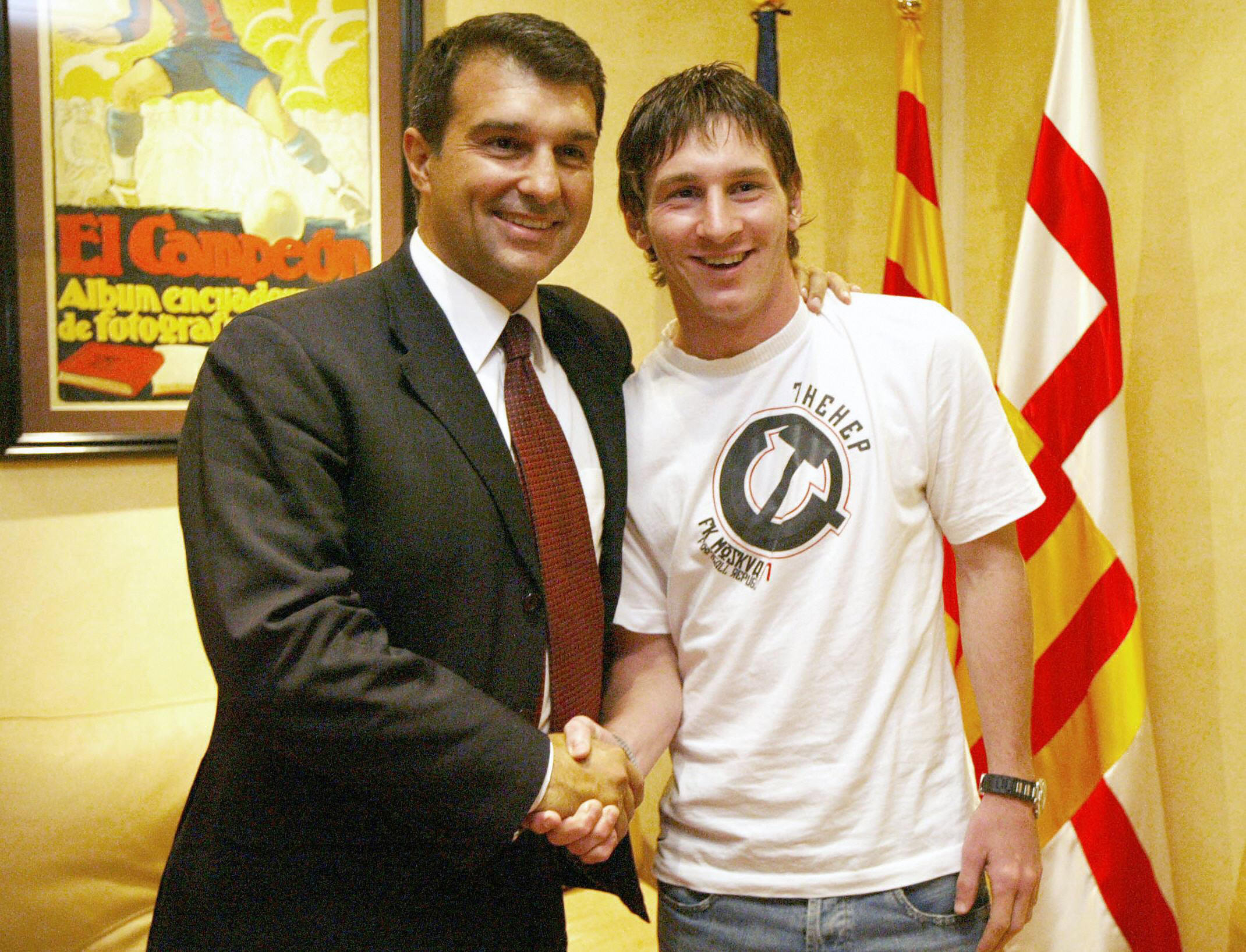 Messi has been repeatedly lied to by Barcelona' - Laporta says he's the  only man that can convince club captain to stay at Camp Nou   Goal.com