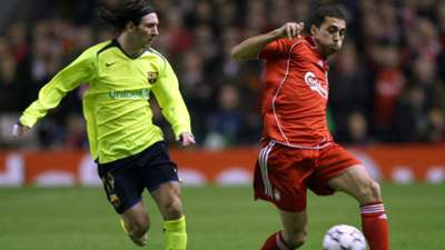 Messi Liverpool 2007