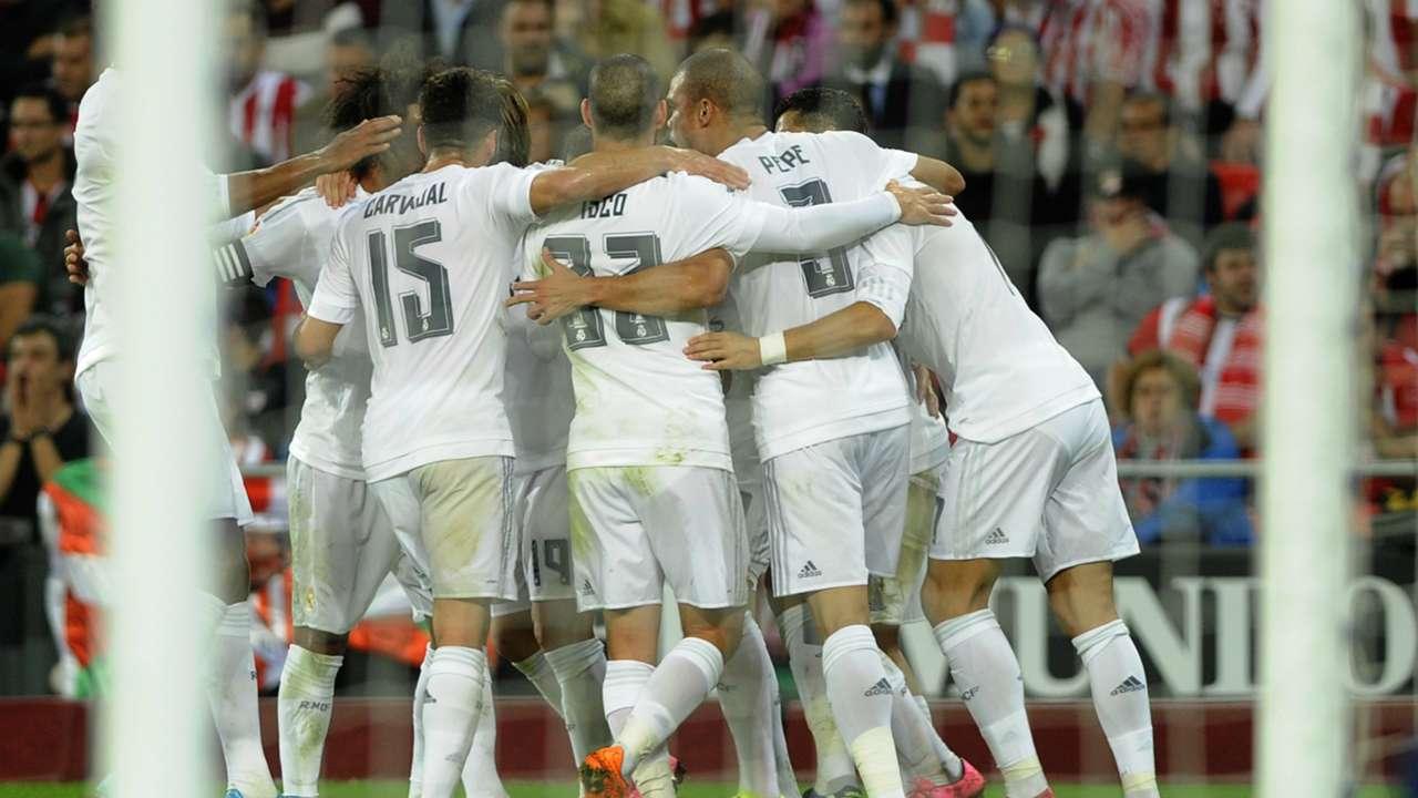 Athletic Bilbao Real Madrid La Liga 09232015
