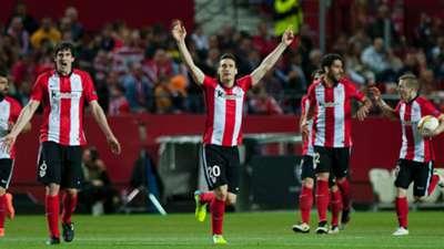 Aritz Aduriz Sevilla Athletic Bilbao UEFA Europa League 14042016