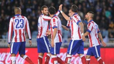 Real Sociedad Atletico Madrid Anoeta La Liga 09112014