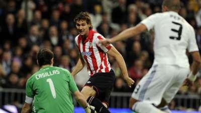 Fernando Llorente Iker Casillas Pepe Real Madrid Athletic Club 11182012