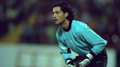 Vitor Baia ex Barcelona player