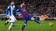 Lionel Messi Barcelona Espanyol La Liga 18122016