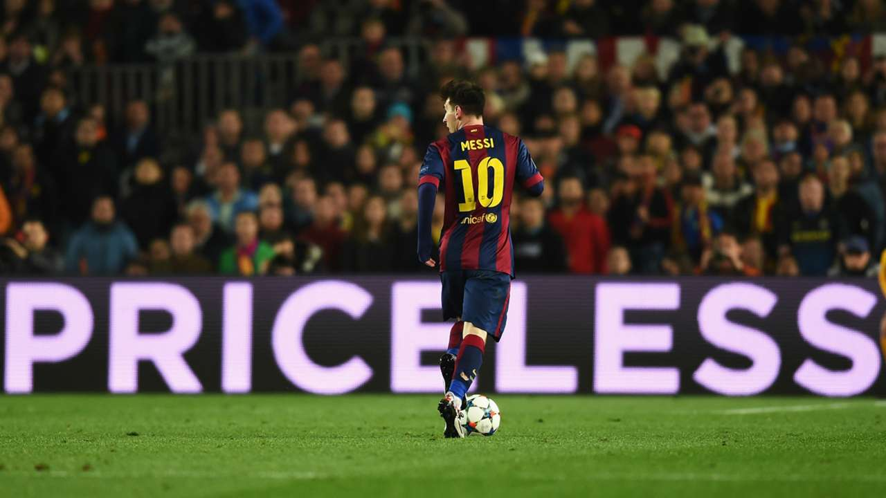 Lionel Messi Barcelona Manchester City UEFA Champions League 18032015