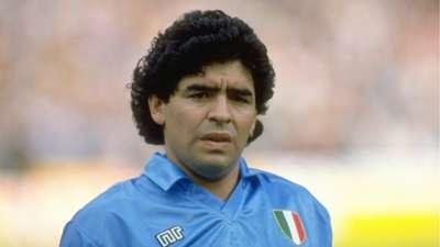 Diego Maradona ex Argentinian player