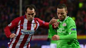 Diego Godin Bart Ramselaar Atletico Madrid PSV Champions League