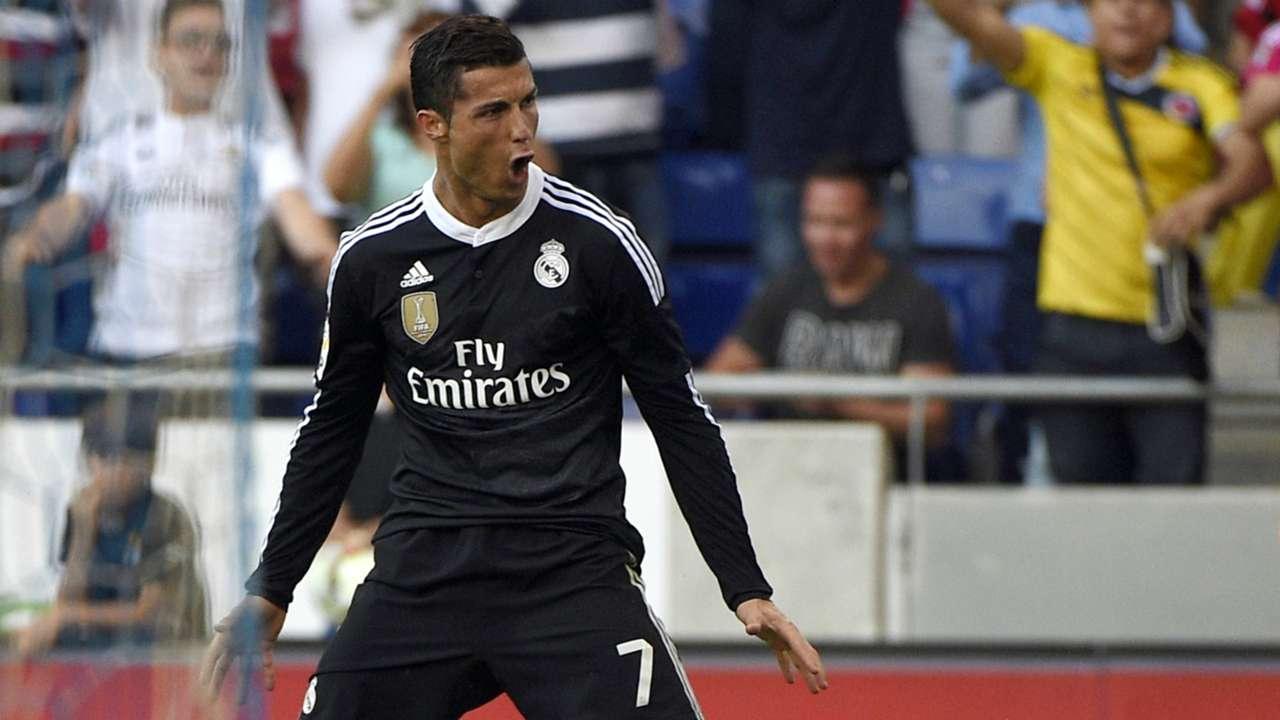 Cristiano Ronaldo Espanyol Real Madrid Liga BBVA 05172015