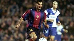 Pep Guardiola Spain Barcelona Cruyff's Best XI