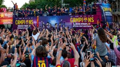 Barcelona UEFA Champions League celebration 06072015