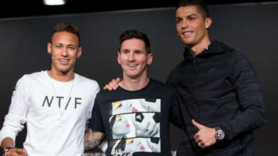 Neymar Lionel Messi Barcelona Cristiano Ronaldo Real Madrid FIFA Ballon d' Or