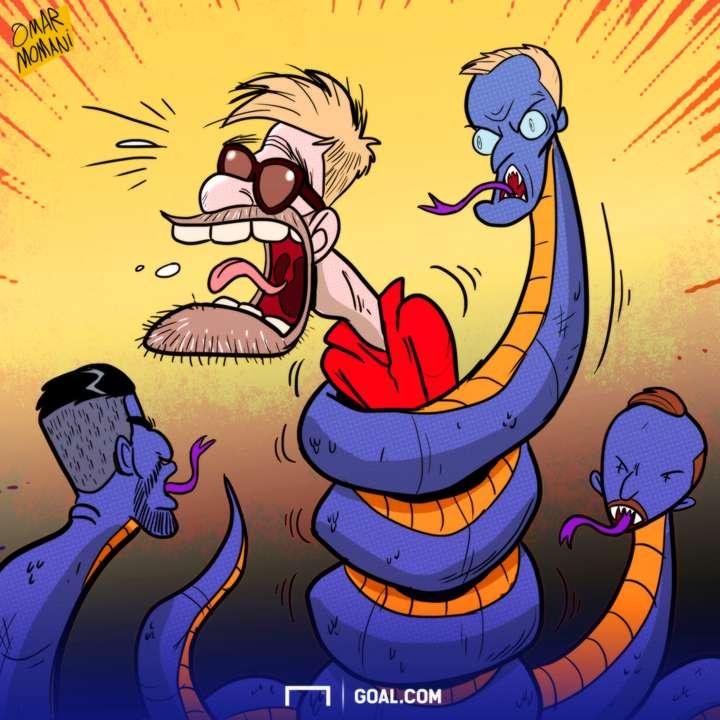 CARTOON 28 FEB Leicester Ranieri