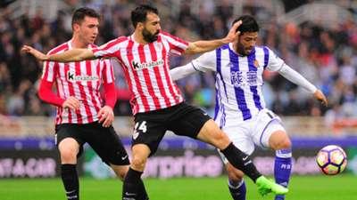 Athletic Bilbao Real Sociedad Mikel Balenziaga Carlos Vela LaLiga 12032017