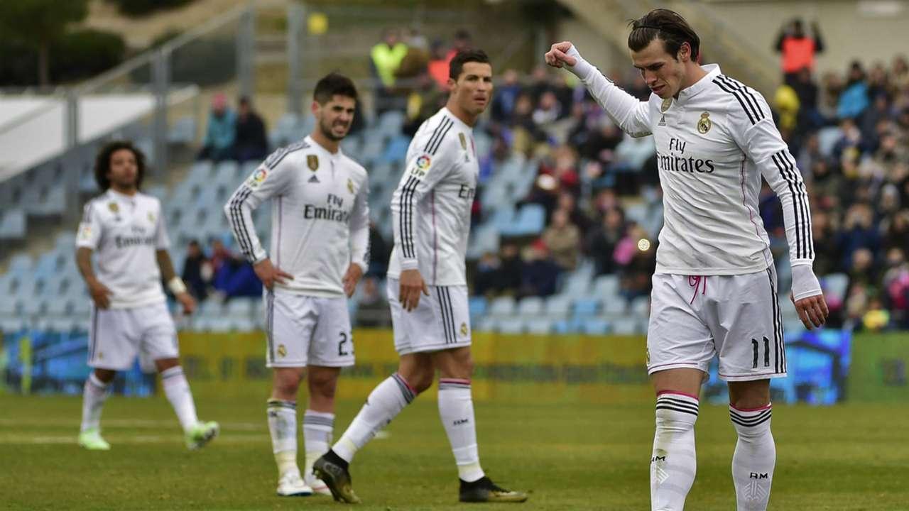 Gareth Bale Cristiano Ronaldo Getafe Real Madrid Liga BBVA 01182015