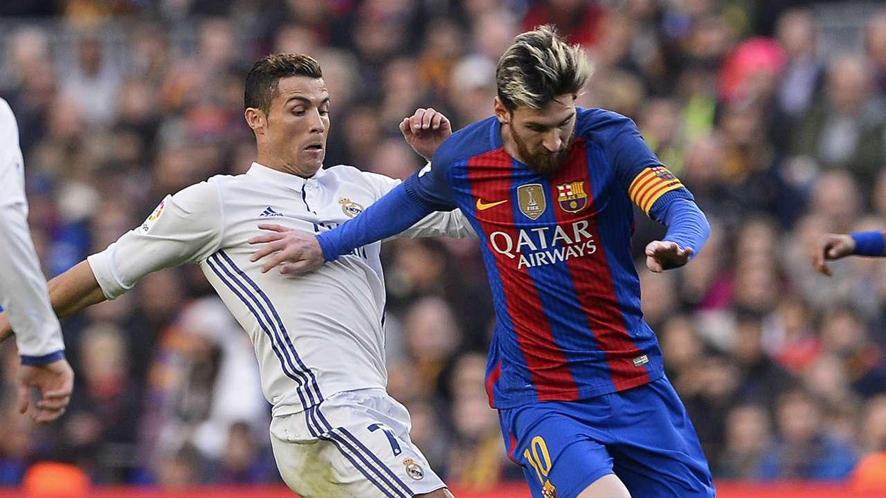 Cristiano Ronaldo Lionel Messi Barcelona Real Madrid