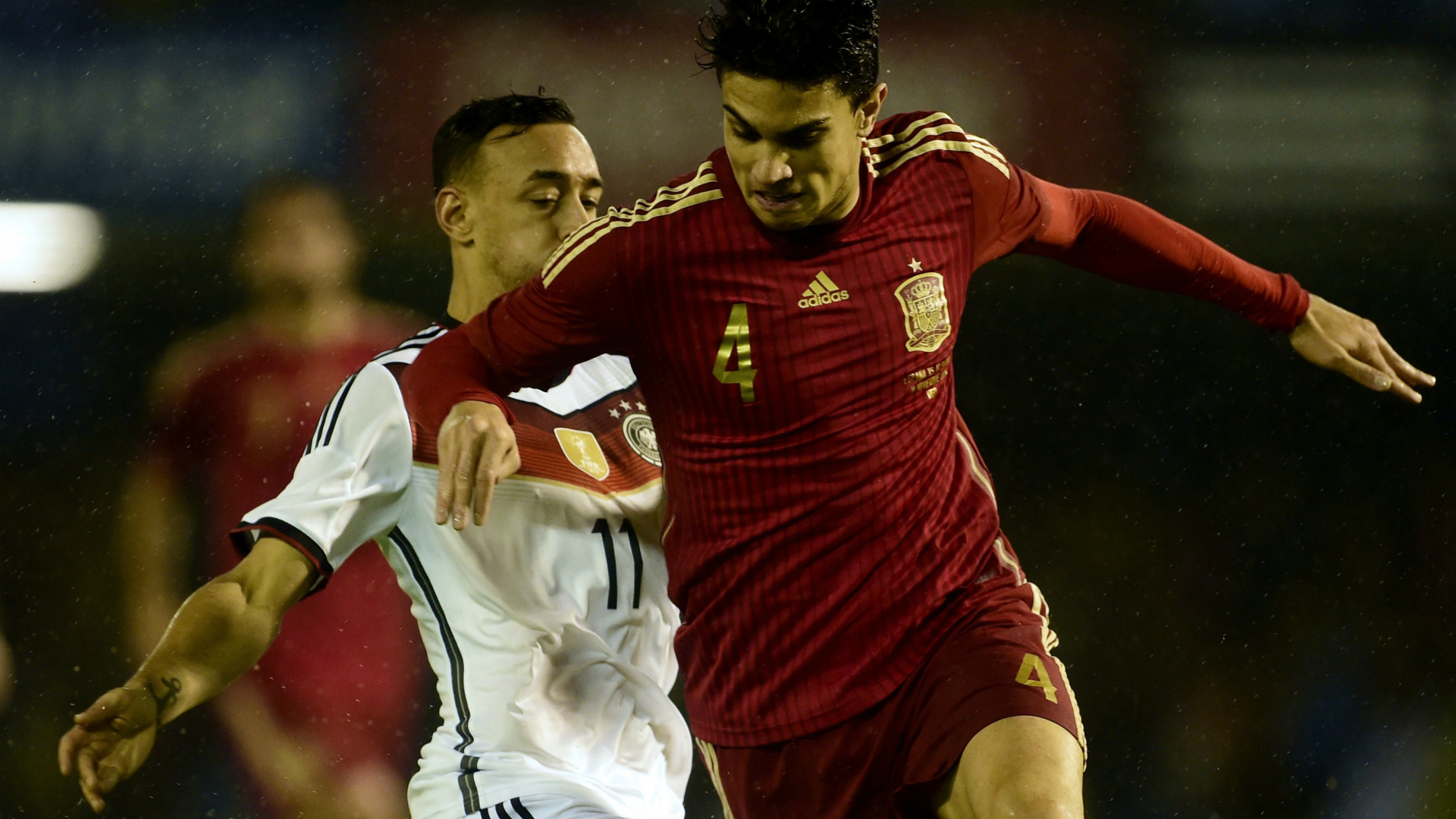 Karim Bellarabi Marc Bartra Spain Germany International Friendly 11182014