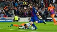 Lionel Messi Claudio Bravo Barcelona Manchester City Champions League