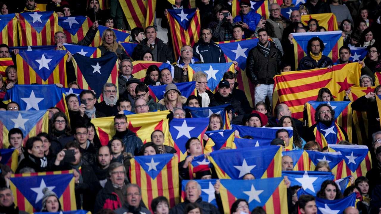 Afición selección catalana