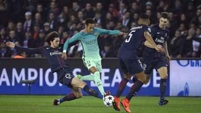 Neymar PSG Barcelona Champions League